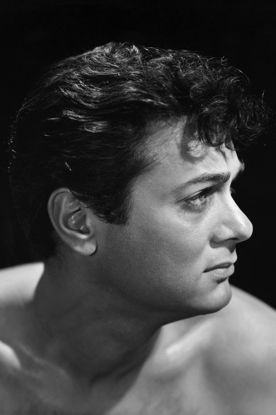The Rat Race Tony Curtis Beefcake Bare Chested Hunky Portrait Poster