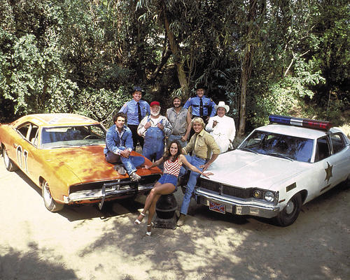 DUKES-OF-HAZZARD-COLOR-24X36-POSTER-WHOLE-CAST-CARS