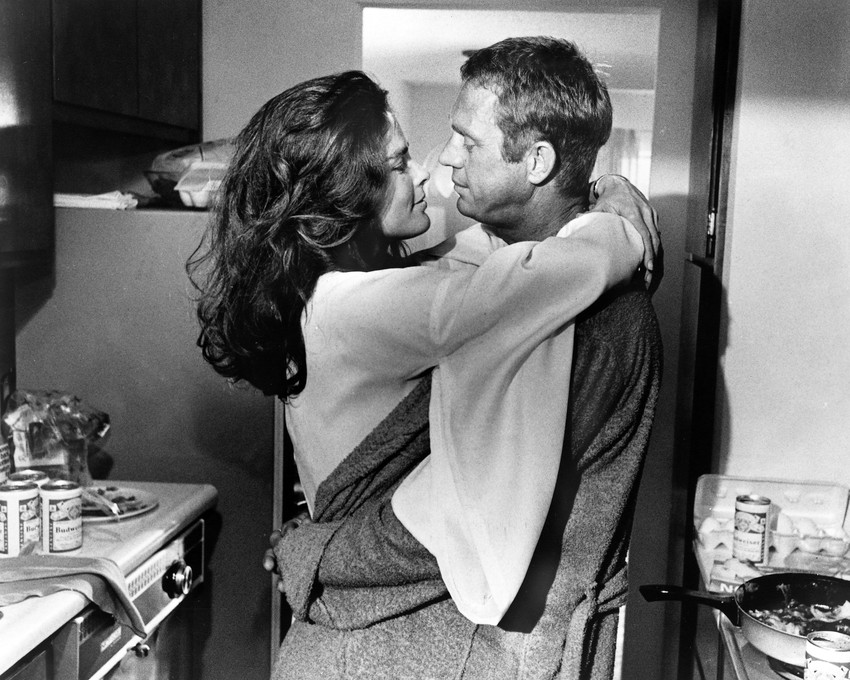 STEVE MCQUEEN ALI MACGRAW THE GETAWAY PRINT PHOTO OR ...