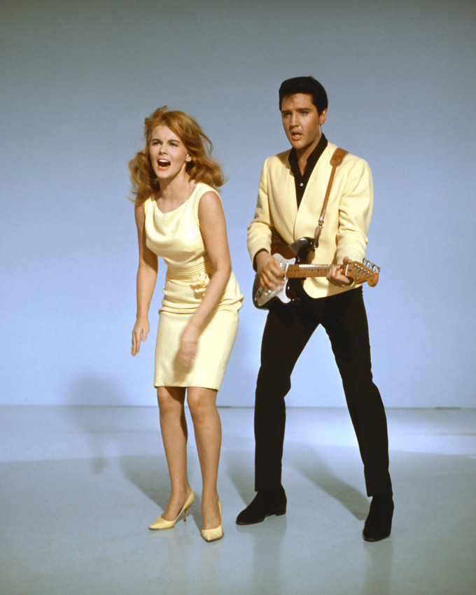 Viva Las Vegas Elvis Presley Ann Margret Dances Elvis Plays Guitar
