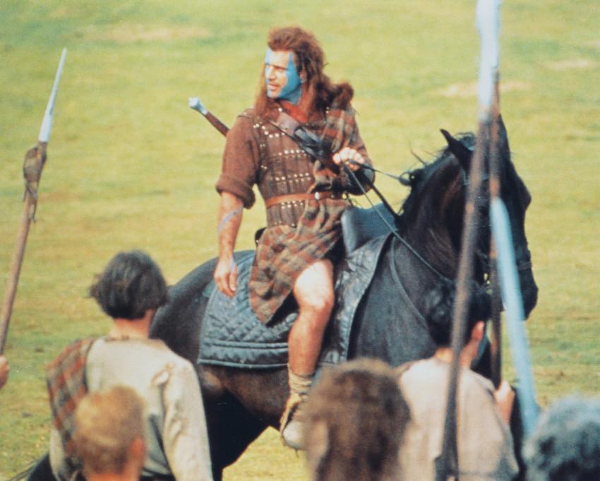 braveheart mel gibson on horse photo or poster ebay